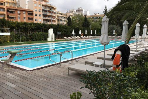 piscina climatizada con geotermia