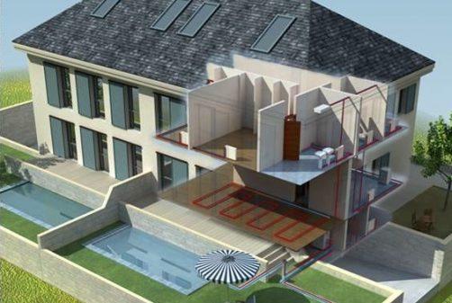 viviendas pareadas con geotermia en Pozuelo